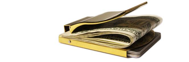 de lindsay Geldklammer gold